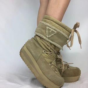 Y2K Volatile platform boots